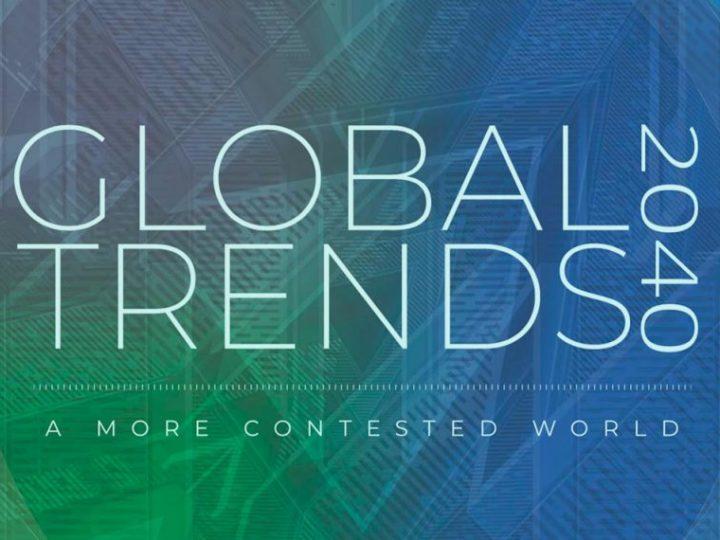 Relatório de Tendências Globais 2040: O Futuro do Mundo nos Próximos Vinte Anos, de acordo com o Conselho Nacional de Inteligência dos EUA