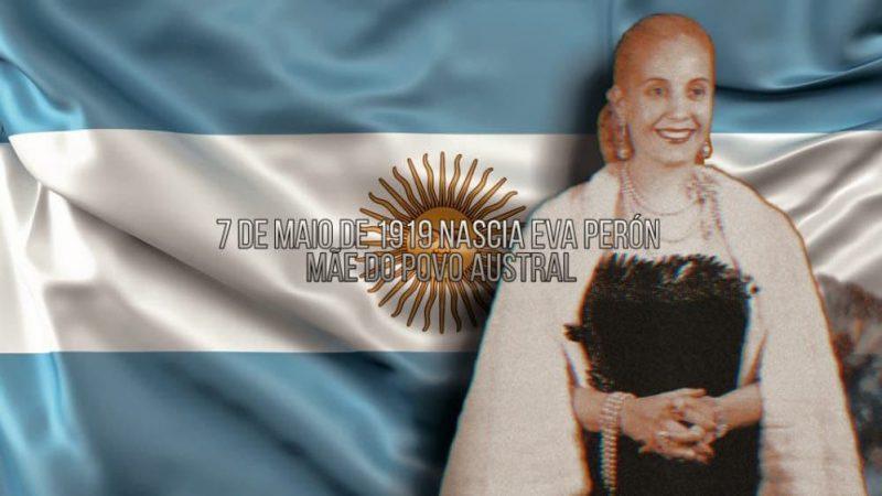 102 anos de Eva Perón